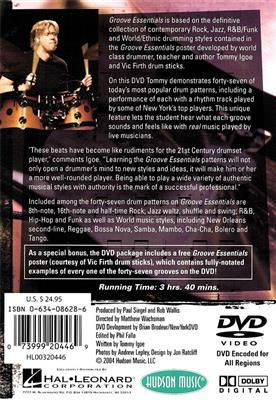 Tommy Igoe: Groove Essentials: Drums and Percussion