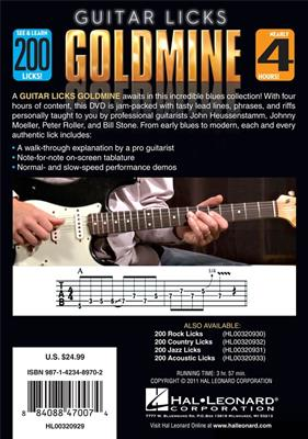 200 Blues Licks: Guitar or Lute
