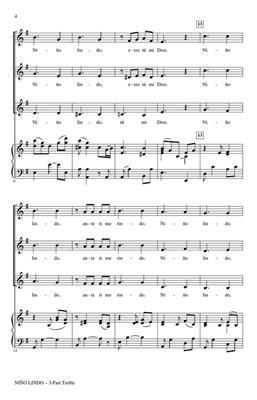 Niño Lindo: Arr. (Alejandro Rivas): Upper Voices a Cappella