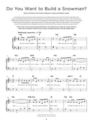 Really Easy Piano: the Frozen Collection: Piano Solo