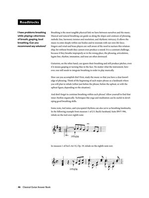 Classical Guitar Answer Book: Books on Music