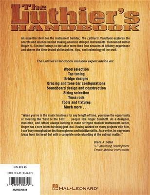 Roger H. Siminoff: The Luthier's Handbook