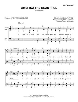 America, the Beautiful: Arr. (Rob Hopkins): Women's Choir