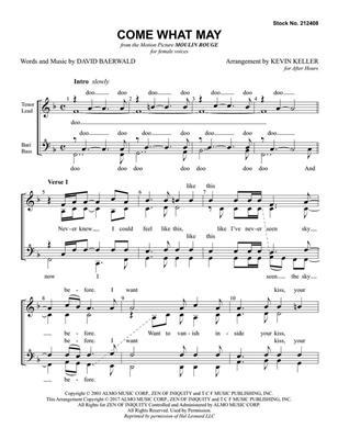 Come What May: Arr. (Kevin Keller): SSAA