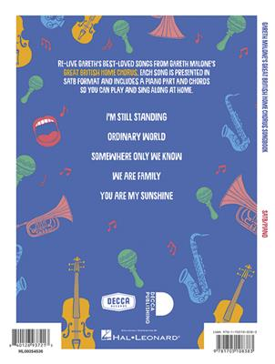 Gareth Malone's Great British Home Chorus Songbook: SATB