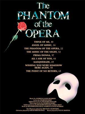 Andrew Lloyd Webber: The Phantom of the Opera - Andrew Lloyd Webber: Piano, Vocal and Guitar