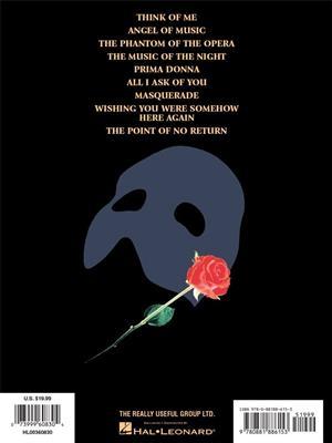 Andrew Lloyd Webber: The Phantom of the Opera - Andrew Lloyd Webber: Piano, Vocal and Guitar (songbooks)
