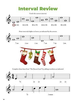 Christmas Carols Music Activity Book