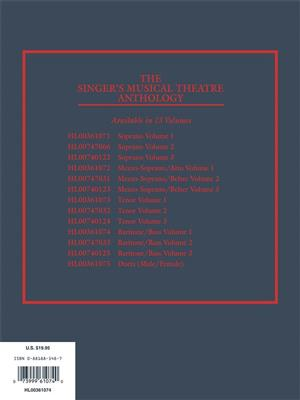The Singer's Musical Theatre Anthology-Vol. 1, rev: Vocal and Piano