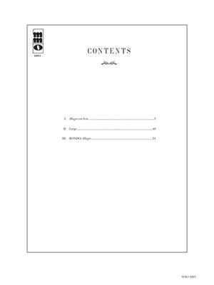 Ludwig van Beethoven: Concerto No. 3 in C Minor, Op. 37: Piano