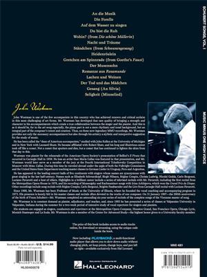 Franz Schubert: German Lieder - High Voice, Vol. I: Soprano