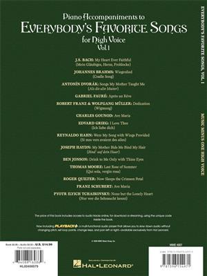 Everybody's Favorite Songs - High Voice, Vol. I: Soprano