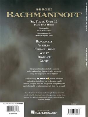 Sergei Rachmaninov: Six Scenes For Piano Duet: Piano