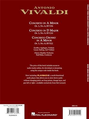 Antonio Vivaldi: Concerto in A Minor, Concerto in D major: Violin