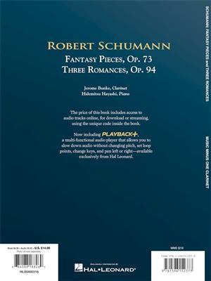 5 Fantasy Pieces, Op. 73 and 3 Romances, Op. 94