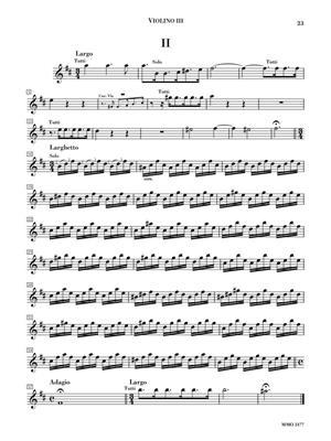 Antonio Vivaldi: Concerto for Four Violins in B minor, Op. 3/10 : Violin