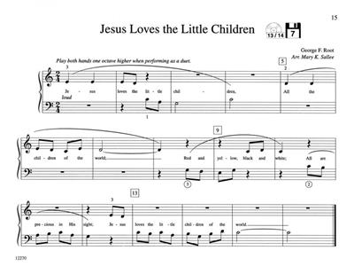 Mary K. Sallee: Teaching Little Fingers to Play Hymns: Piano or Keyboard