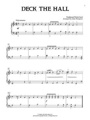The John Thompson Book of Christmas Carols: Arr. (John Thompson): Piano