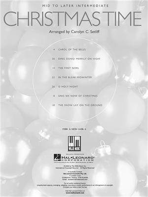 Christmas Time: Arr. (Carolyn C. Setliff): Piano