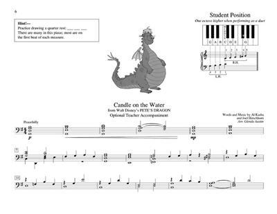 Teaching Little Fingers To Play Disney Tunes: Arr. (Glenda Austin): Piano