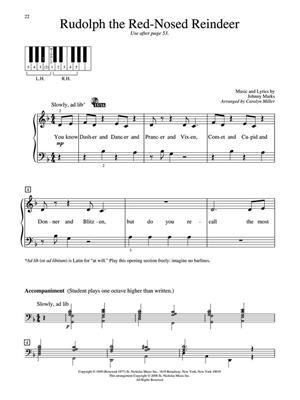 Christmas Piano Solos - First Grade: Arr. (Carolyn Miller): Piano