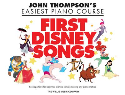 John Thompson: Thompson's Easiest Piano C. First Disney Songs: Piano or Keyboard