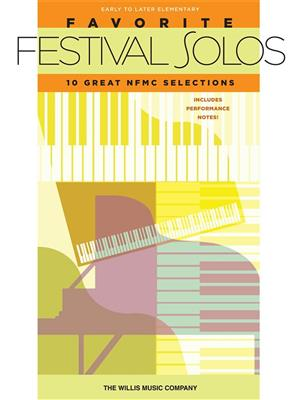 Favourite Festival Solos: Piano or Keyboard