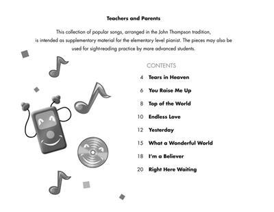 John Thompson: John Thompson's Easiest Piano Course: Piano or Keyboard