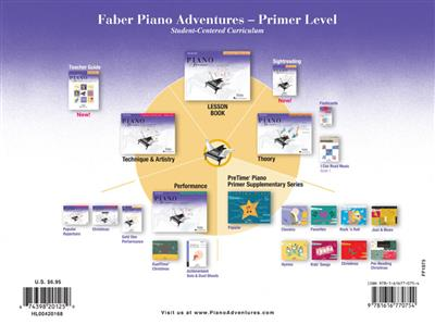 Nancy Faber: Piano Adventures Primer Level - Lesson Book: Piano or Keyboard
