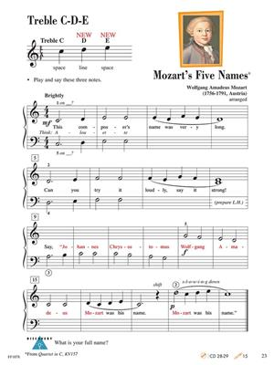 Nancy Faber: Piano Adventures Lesson Book Level 1: Piano or Keyboard