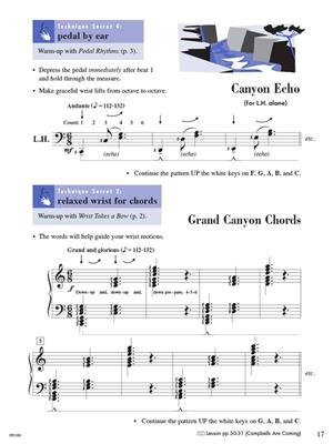 Piano Adventures Technique & Artistry Book Lev. 3A