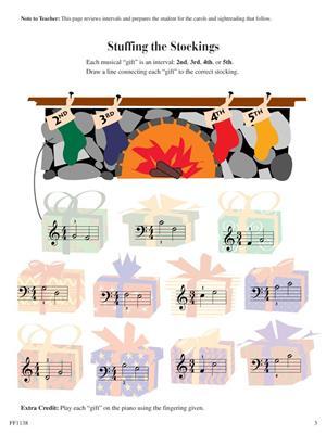Piano Adventures: Christmas Book - Level 1