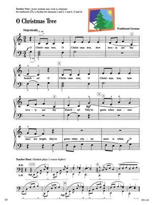 Piano Adventures: Christmas Book - Level 2A