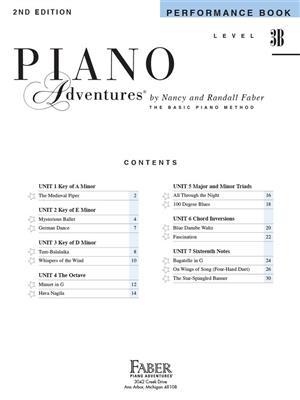 Piano Adventures: Performance Book - Level 3B
