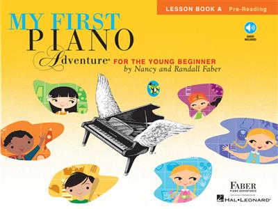 Nancy Faber: My First Piano Adventure - Lesson Book A: Piano or Keyboard