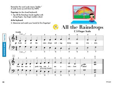 Nancy Faber: My First Piano Adventure - Lesson Book C: Piano or Keyboard