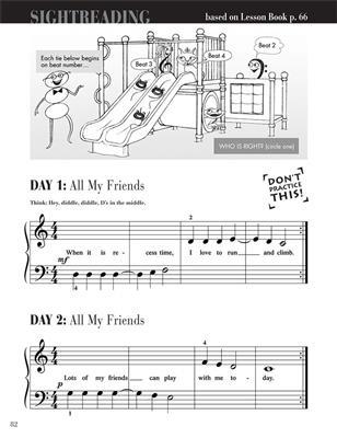 Piano Adventures Primer Level - Sightreading Book