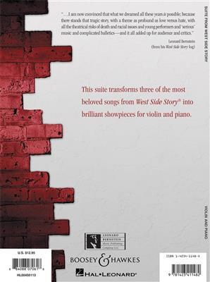 Leonard Bernstein: West Side Story Suite: Arr. (Raimundo Penaforte): Violin