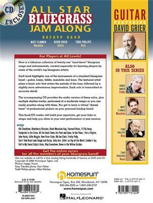 David Grier: All Star Bluegrass Jam Along - Guitar: Guitar or Lute