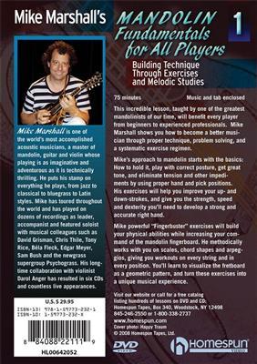 Mike Marshall's Mandolin Fundamentals