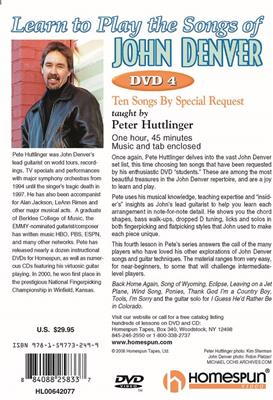 Learn To Play The Songs Of John Denver - Dvd 4