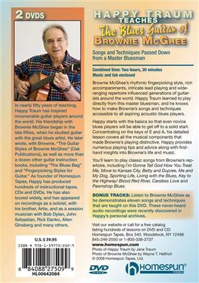 Happy Traum Teaches The Blues Guitar