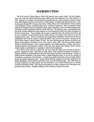 Claude Debussy: Songs of Claude Debussy Vol. 2 Medium Voice: Arr. (James R. Briscoe): Mezzo-Soprano