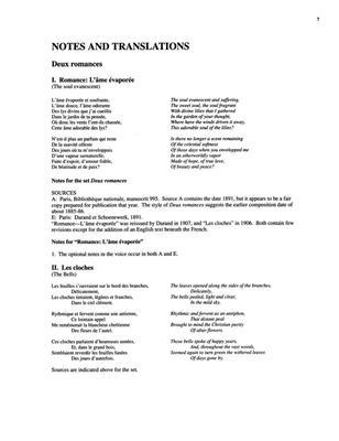 Claude Debussy: Songs of Claude Debussy Vol. 2 Medium Voice: Vocal