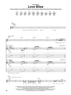 Def Leppard: Def Leppard - The best of..: Guitar