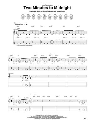 Iron Maiden: Iron Maiden Anthology - Guitar Tab: Guitar or Lute