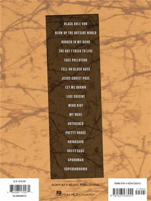 Soundgarden: Soundgarden: Guitar Anthology: Guitar