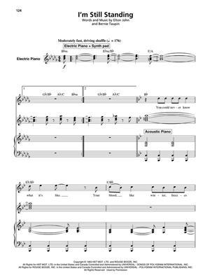 Elton John: Elton John: Favourites: Piano, Vocal, Guitar