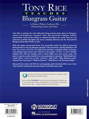 Tony Rice Teaches Bluegrass Guitar: Guitar