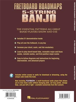 Fretboard Roadmaps 5-String Banjo: Banjo or Mandolin